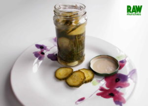 Raw Vegan Pickles | Rawmunchies.org | Raw Vegan Recipes #RECIPE: http://rawmunchies.org/recipes/pickles/ #Raw #vegan #rawvegan #glutenfree #pickles #cucumber #rawpickles #fermented