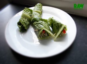 Raw Vegan Lettuce Rolls | Rawmunchies.org #RECIPE HERE: http://www.rawmunchies.org/recipes #Raw #vegan #rawvegan #glutenfree #rawveganwraps #lettucewraps